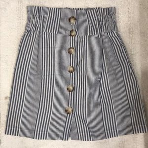 NWOT perfect button down skirt